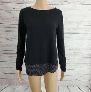 Loft Sweater Black XS
